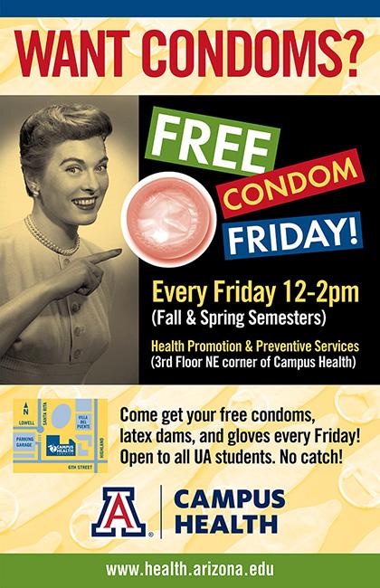 sexual health free condoms