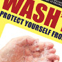 Wash 'Em Protect Flier Graphic
