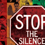 LGBTQ Stop The Silence Poster Graphic