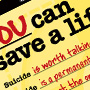Save A Life Poster Graphic